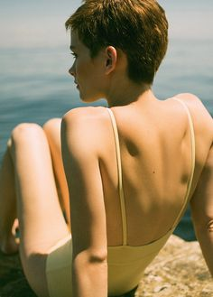 Proper Pixie Cuts — Benthe De Vries in L'officiel Turkey June 2015...