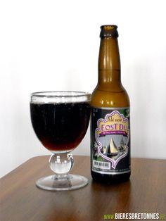 """""""Rosko Eost Du"""" : bière au blé noir de la Brasserie Kerav'Ale (près de Roscoff en Finistère)"""