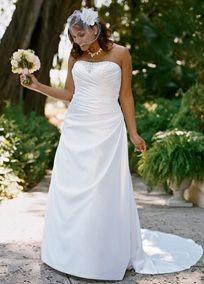 #davidsbridal #plus #weddingdress