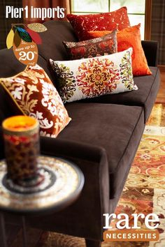 Pier 1 Decor Idea - couch