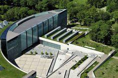 Tallinn, Estonia.  Kumu art museum.