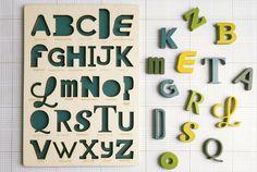 Un juego de letras para niños