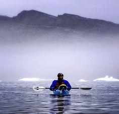 #Greenland was to #kayak among the icebergs. #Nature  #Earth #World #Beautiful #Amazing