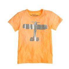 It's a bird! It's a plane! And they are both on this tee. <ul><li>Cotton.</li><li>Machine wash.</li><li>Import.</li><li>Online only.</li></ul>