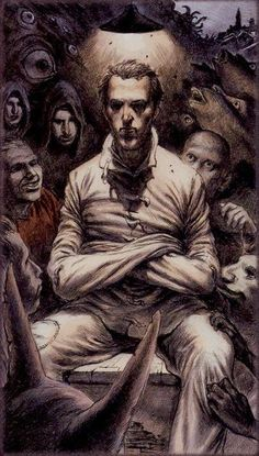 Dark Grimoire tarot  The Fool