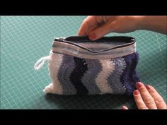 Sewing a makeup bag with zipper, DIY Mother's Day present/gift - YouTube