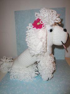 Vintage Knit Poodle