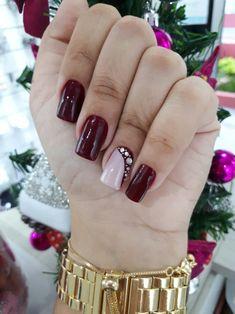 Jrassweiler unhas nude nails perfect nails e matte nails Purple Nails, Matte Nails, Red Nails, Hair And Nails, Purple Nail Designs, Best Nail Art Designs, Wine Nails, Nail Spa, Nail Nail