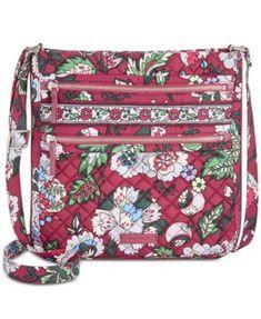 cdb0adff5 Iconic Triple-Zip Hipster Crossbody. Cross Body HandbagsVera BradleyHandbag  ...
