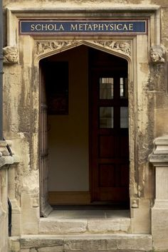 The Bodleian Library, Oxford, England // This is my portal.
