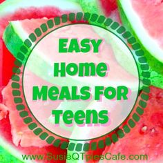 Easy Home & Healthy Meals for Teens #dairybeyondcool #sponsored