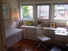Naturopathic medicine office/treatment room