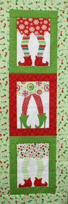 christmas elf wallhanging. Wish I knew who made this, or where to find pattern ! #HandiQuilter