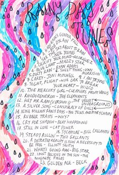 Friday Playlist: Rainy Day Tunes From Rookie Magazine. We need to do more features like this. Learn Singing, Singing Lessons, Singing Tips, Music Mood, New Music, Music Music, Rookie Magazine, Collages, Vocal Training