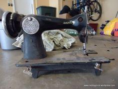 Flea Market Find:  Antique Sewing Machine