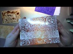 ▶ wax paper resist technique an oldie but a goodie - YouTube
