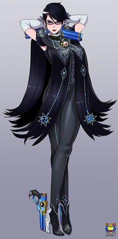 Bayonetta fanart by Kyoffie12.deviantart.com on @DeviantArt #bayonetta - More at https://pinterest.com/supergirlsart/