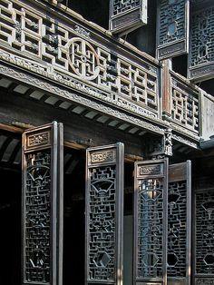 amazing shutters - La maison de Zhang Shiming à Nanxun (Chine) by dalbera on Flickr.