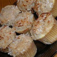 Cupcake de coco @ allrecipes.com.br
