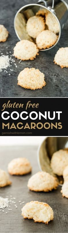 ... Unsweetened, desiccated coconut. You'll never make another macaroon
