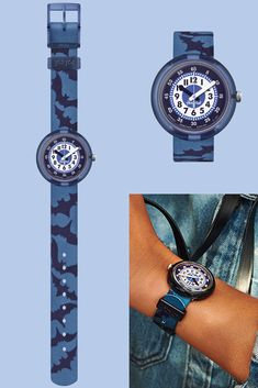 Give the gift of adventure! This blue superhero watch for kids is a safe and durable Swiss-made accessory, and it can be used to count down the seconds until their next journey into the great outdoors. With its textile watch strap, NIGHT GUARDS (ZFPNP017) is a great kids' gift idea, and its easy-to-read dial will make it even more straightforward for them to learn the time. Blue Superhero, The Great Outdoors, Rolex Watches, Count, Journey, Adventure, Night, Easy, Kids