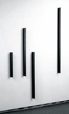 Hartmut Böhm   Progression gegen Unendlich mit 30º und 45º in zwei Richtungen-vertikale Parameter, 1987   Steel