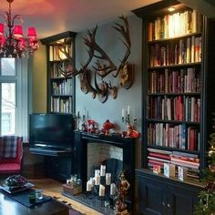 Black Alcove Shelves & Cupboard 2 – Home decoration ideas and garde ideas Living Room Inspiration, Alcove Shelving, Home And Living, Living Room Designs, Home Living Room, House Interior, Room, Room Design, Victorian Living Room
