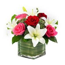 roses and asiatic lilies arrangements - Google Search