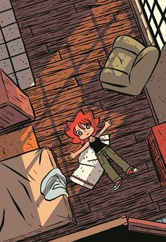 """Bryan Lee O'Malley's new comic, Seconds, begins with a straightforward set of magical instructions: """"1. Write your mistake. 2. Ingest one mushroom. 3. Go to sleep. 4. Wake anew."""" The house sprite that offers them is more mysterious, but that doesn't stop O'Malley's protagonist, Katie, from snatching for a notebook. Although the 29-year-old chef is cooking at a successful restaurant, also called Seconds, she's agonizing about opening an even better one...."""