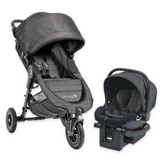 Product Image for Baby Jogger® City Mini GT Travel System in Charcoal 1 out of 5