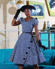 Gorgeous Shweshwe Lace Styles Design 2019 - Women's style: Patterns of sustainability African Print Dress Designs, African Print Dresses, African Print Fashion, Africa Fashion, Seshweshwe Dresses, African Dresses For Women, African Fashion Dresses, Vintage Dresses, South African Traditional Dresses