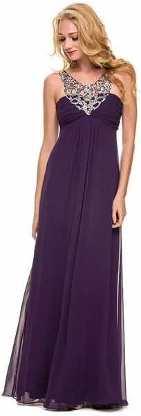 Perfect any prom look with vintage prom dresses inspired by the styles of decades past. Unique Vintage offers prom dresses in sizes up to with easy returns. Prom Dresses 2015, Unique Prom Dresses, Bridesmaid Dresses, Plum Dresses, Style Empire, Chiffon Dress Long, Prom Looks, Formal Gowns, Special Occasion Dresses