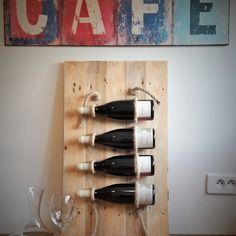 Cave à vin en bois et chanvre