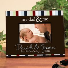 Personalized Frame for Dads  Great for Father's by TaylorJuneGifts, $36.00
