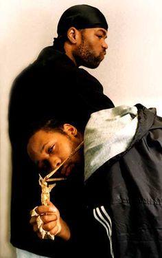 "trust-nobody-is-better: "" Method Man x RZA "" Wu Tang Clan, Hip Hop And R&b, Hip Hop Rap, Hip Hop Artists, Music Artists, Hip Hop Classics, Method Man, Dope Music, Music Is Life"