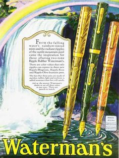 Waterman's Pens