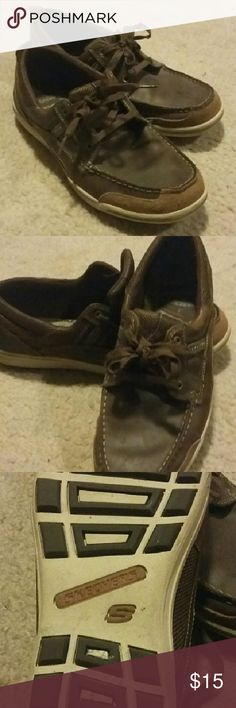 Sketcher Loafer's Sketcher loafers, used but in good condition. Size 10.5, any questions feel free to ask. Thanks so much for stopping. Happy shopping! Skechers Shoes Loafers & Slip-Ons