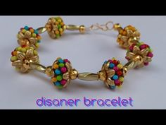 howto make disaner fancy stylist bracelet at home DIY naveena pujari - YouTube
