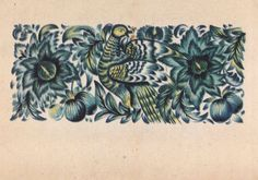 Ukrainian Folk Art. M. Timchenko Decorative by RussianSoulVintage