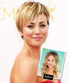 The Cut: Kaley Cuoco's Unexpected Pixie