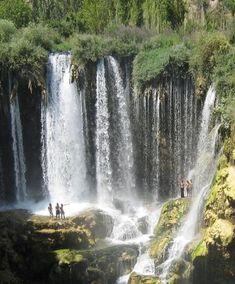 Yerkopru waterfalls - Konya / Turkey Wonderful Places, Beautiful Places, Beautiful Pictures, Turkey Destinations, Travel Destinations, Special Library, Planet Earth 2, Gods Creation, Istanbul Turkey