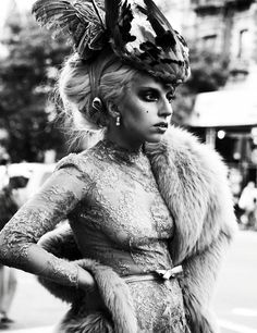 She's gorgeous and I adore her and I do NOT care what anyone else thinks.  Xoxoxo Lady Gaga.