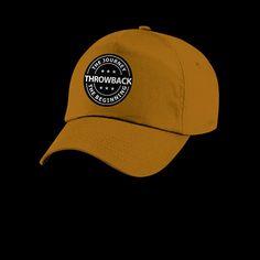 Throwback baseball cap