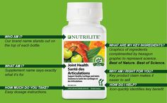 #Nutrilite supplements are made simple by the new labels that truly say it all! #SupplementsMadeSimple