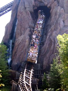 Expedition Everest @ Animal Kingdom-Ira and I will be riding this soon!  So excited, I've never been!