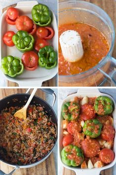 Greek stuffed tomatoes and peppers - this Greek 'peasant' meal is still popular for a reason!