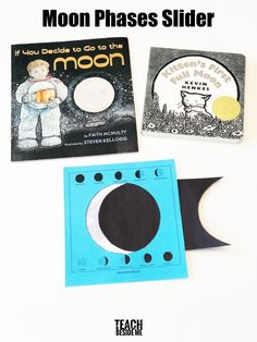 Moon Phases Activity for Kids - Teach Beside Me Space Activities For Kids, Moon Activities, Hands On Activities, Learning Activities, Creative Teaching, Teaching Kids, Teaching Money, Moon Projects, Space Projects