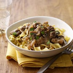 Slow Cooker Beef Stroganoff  - Select the photo to read more beef slow cooked recipes