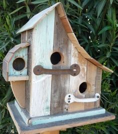 Multi-family birdhouse