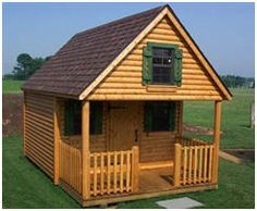 Play Cabins and Play Cabin Kits - Find an assortment of styles and sizes at Fifthroom.com